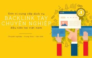 Dịch vụ backlink tay chất lượng